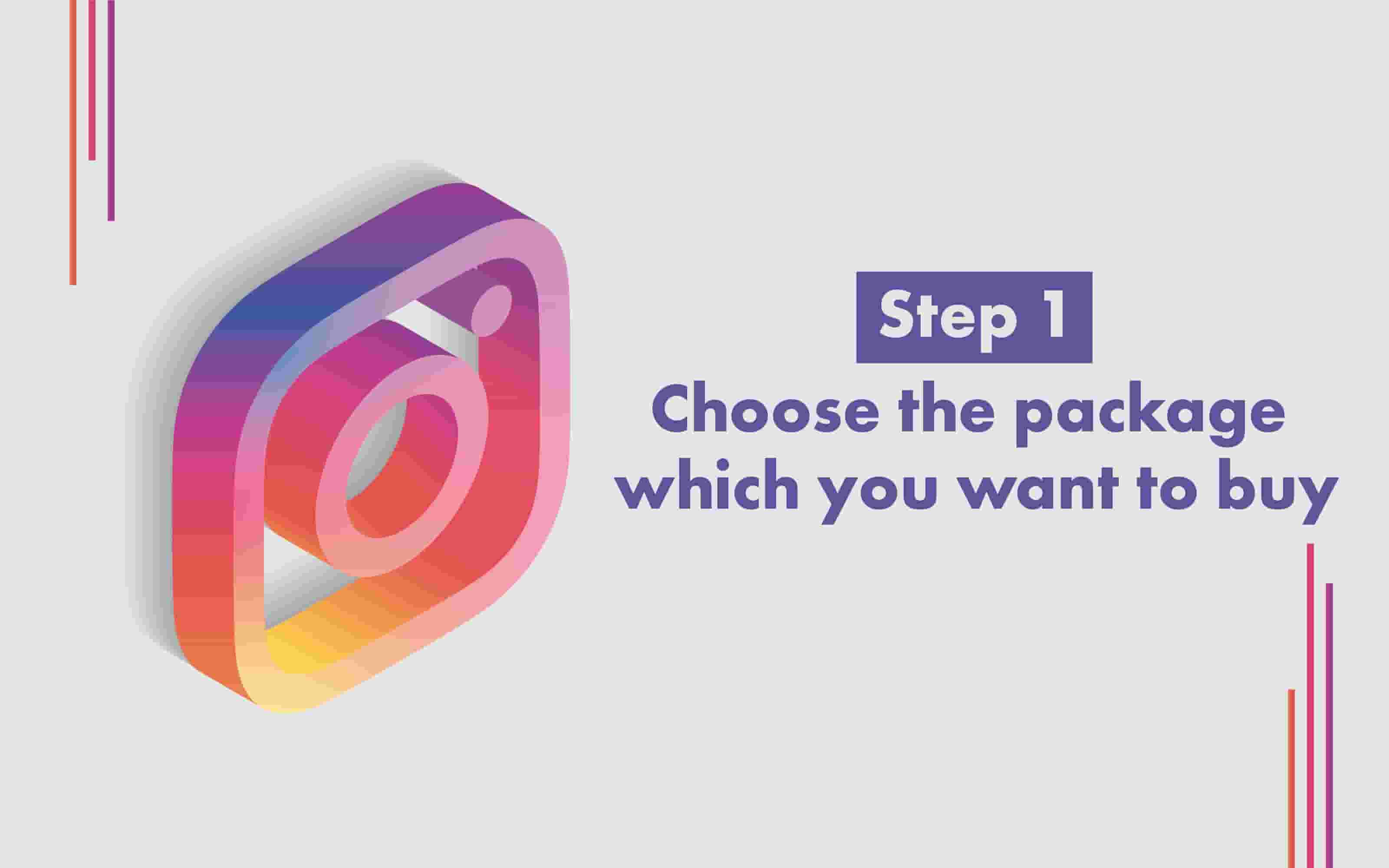 How to Buy Instagram followers step 1