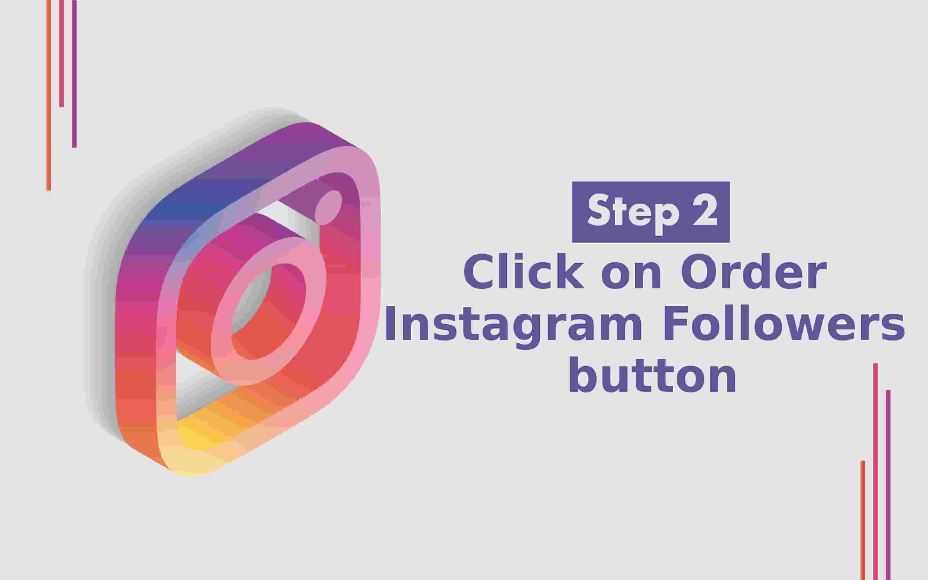 How to Buy Instagram followers step 2