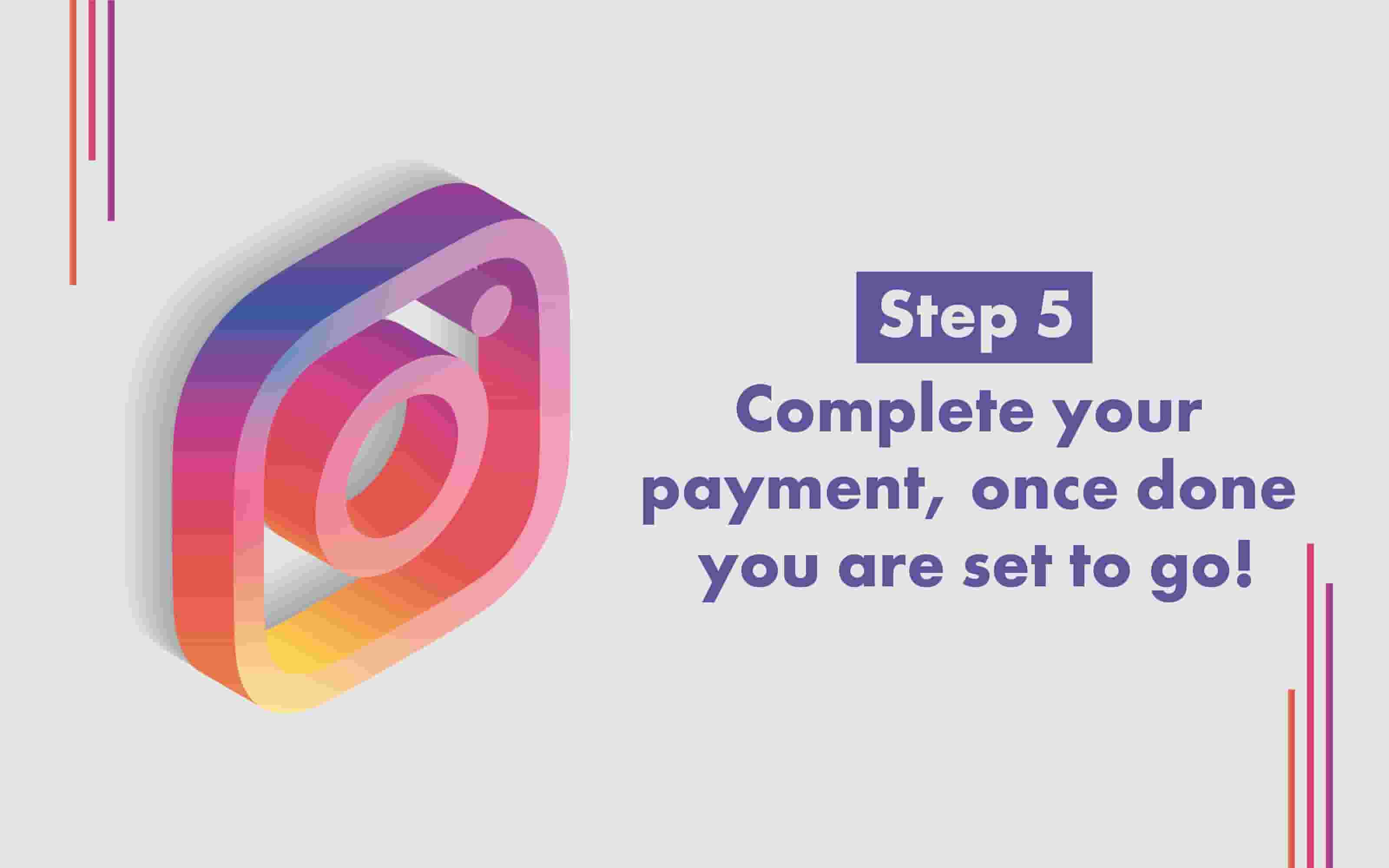 How to Buy Instagram followers step 5