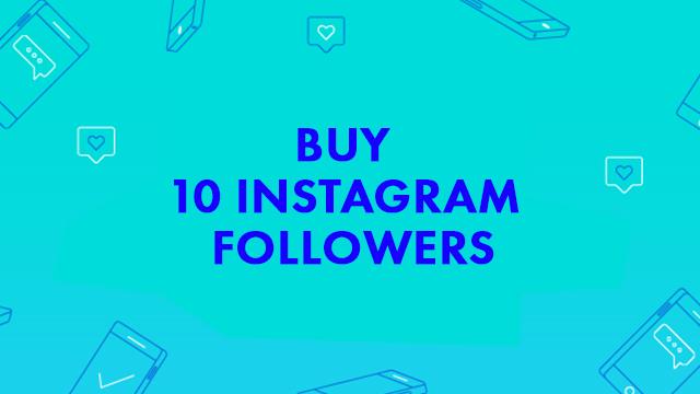 Buy 10 Instagram Followers