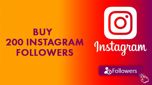 Buy 200 Instagram Followers